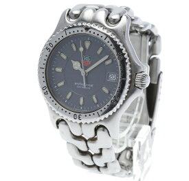 タグホイヤー プロフェッショナル 200m WG1213-KO シルバー ステンレススチール 腕時計 メンズ TAG HEUER クオーツ グレー文字盤 【中古】