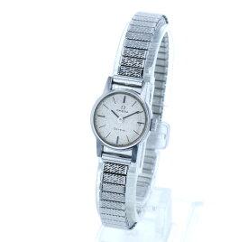 オメガ ジュネーブ シルバー メタル 腕時計 レディース OMEGA 手巻き シルバー文字盤 【中古】