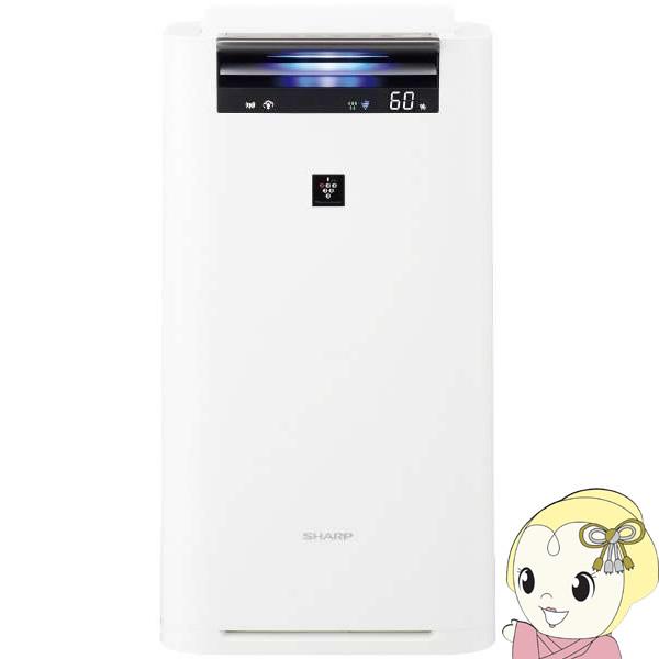 KI-JS50-W シャープ 加湿空気清浄機 [空気清浄:23畳/最大加湿:15畳/PM2.5対応]【smtb-k】【ky】【KK9N0D18P】