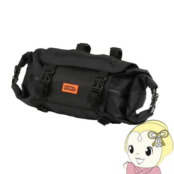 【メーカー直送】 DBF464-BK ドッペルギャンガー メガマウス ハンドルバーバッグ【KK9N0D18P】