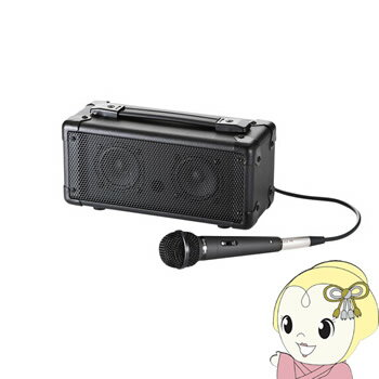 MM-SPAMPBT サンワサプライ マイク付き拡声器スピーカー (Bluetooth対応)【smtb-k】【ky】【KK9N0D18P】