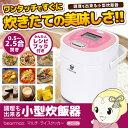【あす楽】【在庫あり】MC-106 クマザキエイム 小型炊飯器 マルチ・ライスクッカー 2.5合炊き【smtb-k】【ky】【KK9N0D18P】