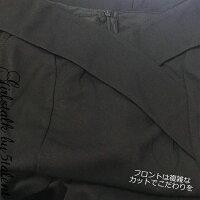 オフショルダーxハイスリットなイブニング系ナイトドレス★ブラックタイトなデザインがセクシー/大きいサイズOK【キャバ/ロングドレス】