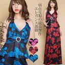 ◆あす楽即納◆着痩せを誘う大人のペプラム新柄薔薇★ジルコニアバックルが輝く王道デザイン★体型カバー/大きいサイ…