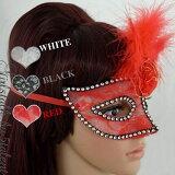 【仮面】本格派★羽毛ファー&リボンローズ☆舞踏会マスク★パーティやイベント、舞台にも