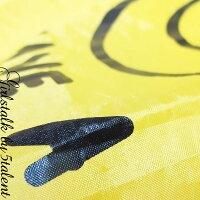 いつもポケットにエコバッグ!!ニコニコスマイルが可愛い【便利】ほどよいサイズでレジ袋の代用に♪旅行に♪プチギフトに