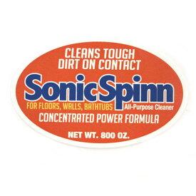 ステッカー アメカジ シール Sonic Spinn メッセージステッカー 防水ステッカー デコレーション 1000円以上お買い上げでゆうパケット便送料無料【クリアランスセール開催中 全品ポイント2倍 割引クーポン発行】