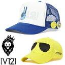 V12 ヴィトゥエルヴ ピースキャップ PEACE CAP メッシュキャップ/V121720-CP02【V】