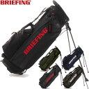 ブリーフィング BRIEFING ゴルフ オリジナルモデルスタンド式キャディバッグ CR-4 #01 BRG183701