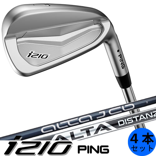 PING i210 ピン ゴルフ アイアン セット 4本セット(7〜9番・PW) カーボンシャフト ALTAJCB PINGFUBUKI 左用あり 日本仕様