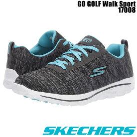 【エントリーでさらにポイント10倍!19日20時よりマラソン期間中!】  スケッチャーズ 2020 SKECHERS GO WALK SPORT 17008 レディース ゴルフシューズ スパイクレス