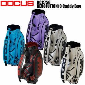 ドゥーカス DOCUS DCC756 レボリューション ツアーキャディバッグ 10インチ HARAKEN REVOLUTION10