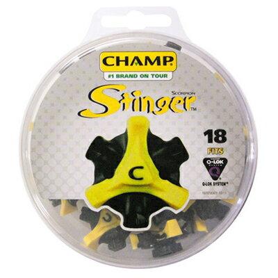 【ネコポス送料無料】【あす楽対応】 CHAMP スコーピオン スティンガー3 Q-LOK ゴルフシューズ用 スパイク鋲 18個入り S-88