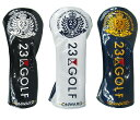 【New】23区GOLF TOUR TRADITIONAL 2020ツアートラディショナル2020ドライバー用ヘッドカバー【ZZ1PBW-0801】【GOLFLI…