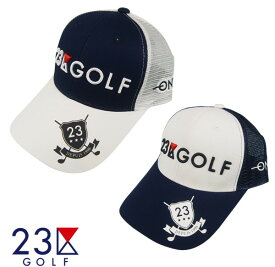 【New】23区GOLF プレーヤーズメッシュキャップ【HT1PBW-0801・0802 NA/WH/WH・WH/NA/NA】【GOLFLINE】【GOLFLINE-WEAR】