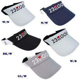 【New】23区GOLF・クラブロゴメッシュバイザー大きめサイズもあります。 【HT1PKW-0831・0832】【GOLFLINE】by ONWARD KASHIYAMA【GOLFLINE-WEAR】