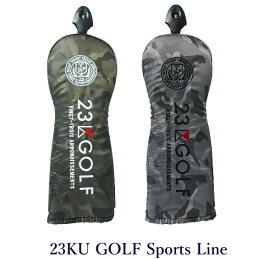 【PREMIUM SALE】23区ゴルフキャットハンドモデル フェアウェイ用ヘッドカバー【ZZ1PKW-0841 グレーカモ・迷彩カモ】【GOLFLINE】【CSPT】