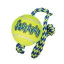 KONG 犬用 おもちゃ エアードッグ ロープ付きテニスボール Mサイズ5000円(税抜)以上送料無料