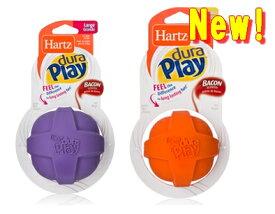 大型犬用 おもちゃ Hartz DuraPLay デュラプレイボールふにゃつよボール Lサイズ5000円(税抜)以上送料無料