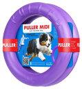PULLER MIDI(中)プラー 中大型犬用 M サイズ 丈夫なおもちゃ リング 輪のおもちゃ 2個セット ドーナツ 犬のおも…