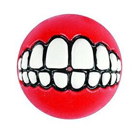 ROGZ (ログズ) GRINZ BALL Mサイズ 犬用おもちゃ トリートボール  歯 笑顔 ボール5000円(税抜)以上送料無料! /【RCP】