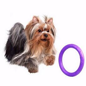 メール便可 お試し!1個 小型犬 中型犬用 丈夫なおもちゃ Sサイズ PULLER MINI プラー ミニ リング 輪のおもちゃ プラ− 犬 おもちゃ ドーナツ 犬のおもちゃ5000円(税抜)以上送料無料! /紫の輪っか