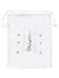 ベトナム刺繍巾着袋