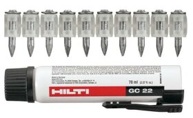 HILTIヒルティGX120用ガスピンX-GN20MX+ガスGC22