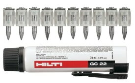 HILTI ヒルティ GX120用 ガスピン 800本 X-GN 20MX + ガス缶2本セット