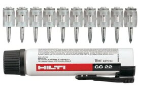 HILTIヒルティGX120用ガスピンX-GHP20MX+ガスGC22