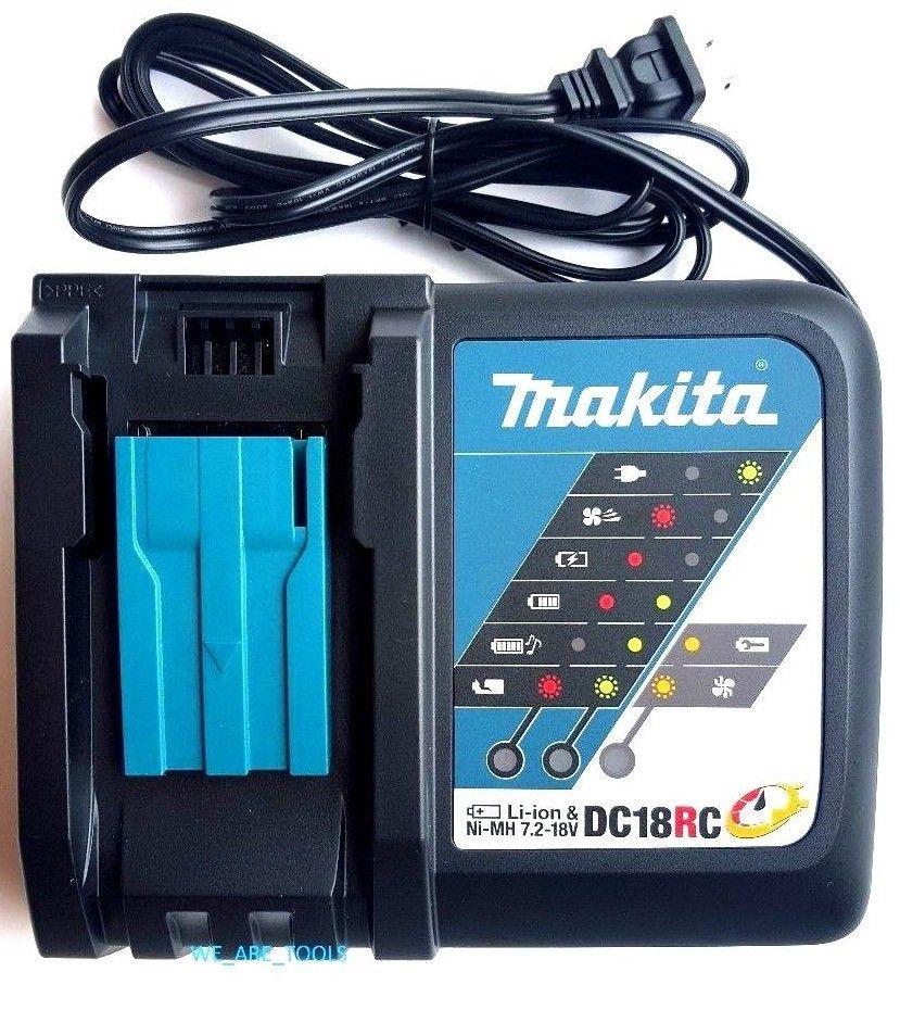 MAKITA マキタ 急速充電器 7.2V〜18V バッテリー 対応 C18RC BL1830 BL1840 BL1850 BL1860 インパクト ドリル 電動工具 TM51DZ