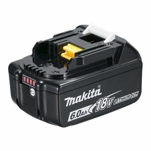 マキタ BL1860B バッテリー 最新版 雪マーク付 18V 高容量 6.0Ah スライド式バッテリー リチウムイオン 電動工具 BL1860 純正