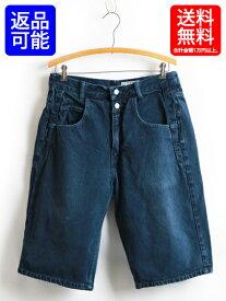 90's USA製■ゲス ジーンズ GUESS JEANS 7ポケット カラー デニム ショーツ(男性 メンズ W34)ショートパンツ 90年代 アメリカ製 古着