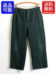 50s★グリーンBOAT-SAILコットンウィップコードワークパンツ(メンズ男性W30×L26程)50年代ビンテージ古着緑