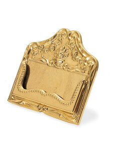 ※代金引換え対象外イタリア製クラシックブラス真鍮カードスタンドsh06【クラシカル雑貨】【カードスタンド】【おしゃれ】