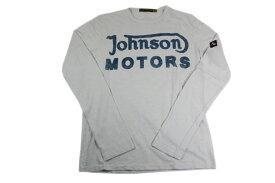 JOHNSON MOTORS ジョンソンモータース メンズ 長袖 Tシャツ クラッシック 38 ホワイトサンド ロングスリーブ 秋冬 アメカジ バイカー