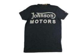 JOHNSON MOTORS ジョンソンモータース メンズ 半袖 Tシャツ 「クラッシック 38」 オイルドブラック あす楽 ジョンソン・モータース アメカジ バイカー