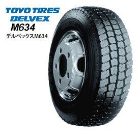 トーヨータイヤ デルベックス M634 205/75R16 113/111L◆2本以上で送料無料 DELVEX バン/トラック用サマータイヤ