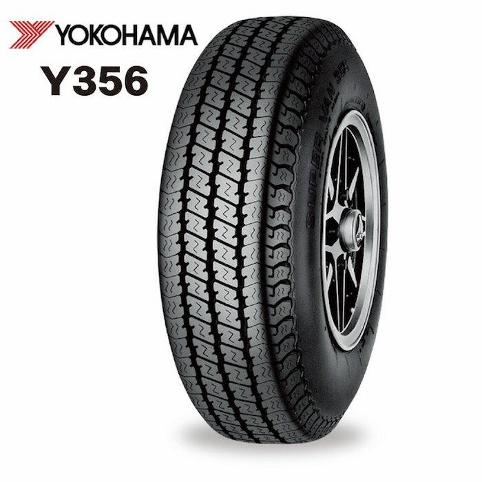 ヨコハマ Y356 145/80R12 80/78N LT(145R12 6PR)◆【送料無料】バン/トラック用サマ−タイヤ