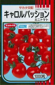 送料無料! ミニトマト種キャロルパッション 1000粒 サカタのタネ