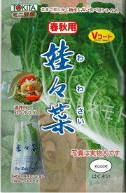 白菜 娃々菜 春秋用1g(約300粒)トキタ種苗