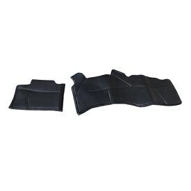 フロントデッキカバー 日産 NV350キャラバン E26系 PVCレザーカバー 足元カバー フロント用 ガード シート 汚れ防止 内装 フットカバー