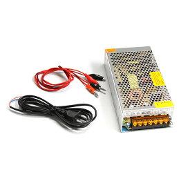 【送料無料】ACDCコンバーター AC100V→DC12V 15A 直流安定化電源 変換器【ACからDCに変換 AC/DC AC-DC 交流 テスター コンセント 変圧器 アダプター 汎用 ボルト アンペア HID LED バルブ 等の 点灯 チェック に】