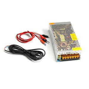 【送料無料】ACDCコンバーター AC100V→DC12V 15A 直流安定化電源 変換器【ACからDCに変換 AC/DC AC-DC 交流 テスター コンセント 変圧器 アダプター 汎用 ボルト アンペア HID LED バルブ 等の 点灯 チェ