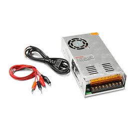 【送料無料】ACDCコンバーター AC100V→DC24V 15A 直流安定化電源 変換器【ACからDCに変換 AC/DC AC-DC 交流 テスター コンセント 変圧器 アダプター 汎用 ボルト アンペア HID LED バルブ 等の 点灯 チェック に】