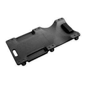 低床 クリーパー ブラック 黒 6輪タイプ メカニッククリーパー 自動車 メンテナンス 作業用 フォールディングクリーパー 寝板カート サービスクリーパー キャスター付き