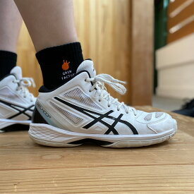 バスケ ソックス「グリン王子 ミドル 刺繍ロゴ」厚手国産 クールマックス バスケソックス バスケットボール 靴下 バッソク