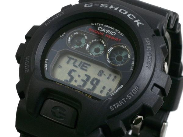 G-SHOCK CASIO カシオ メンズ 腕時計 ソーラー G6900 G-6900-1 ブラック タフソーラー Gショック gshock g−shock