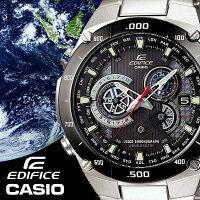 CASIOEDIFICE腕時計エディフィス電波ソーラーメンズ腕時計うでどけい世界6局受信電波時計EQW-M1100DB-1Aマルチバンド6クロノグラフ