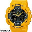 CASIO G-SHOCK GA-100A-9 ジーショック g-shock 黄色 イエロー 腕時計 うでどけい メンズ レディーズ